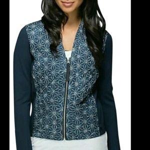 Lululemon 'Sashiko' navy jacket